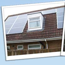 Solar Panels on domestic solar PV installation in Cambridge
