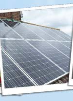 Solar Panels on domestic property in Bedford
