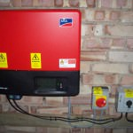 Huntingdon Solar Photovoltaics inverter
