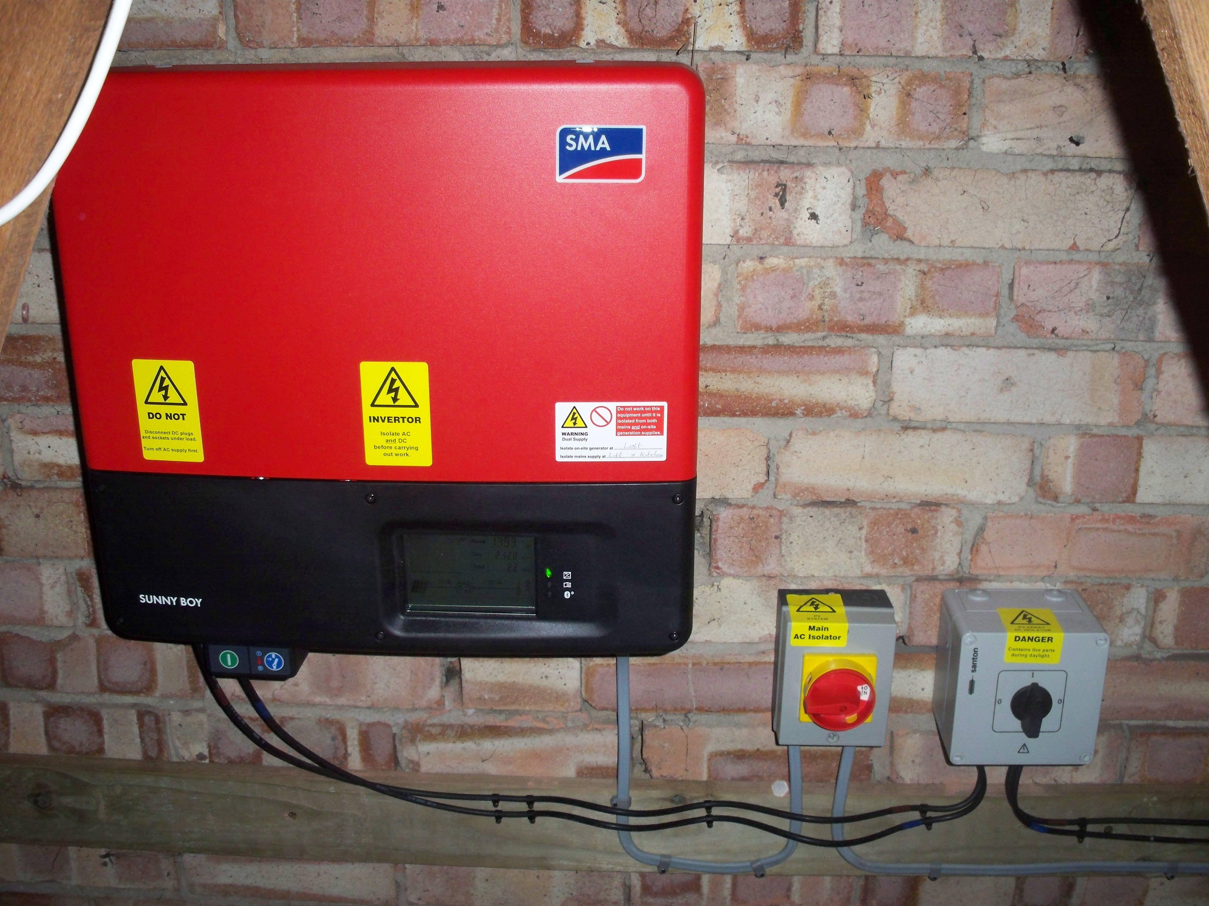 Huntingdon Solar Photovoltaics inverter