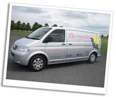 Electrasolar van in Cambridgeshire