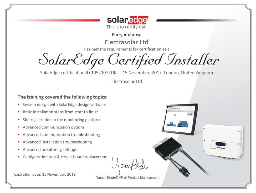 Solar Edge Pv Installer In Cambridgeshire Bedfordshire Beyond