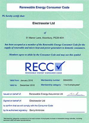 RECC Certificate 2016