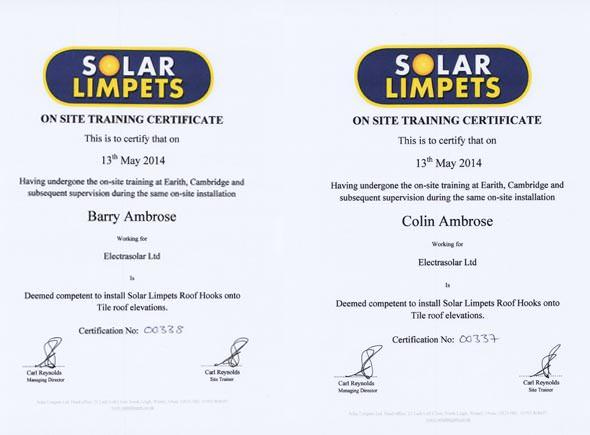solar-limpet-certification