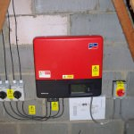 Solar PV Huntingdon - inverter