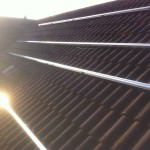 Solar PV Huntingdon - during installation