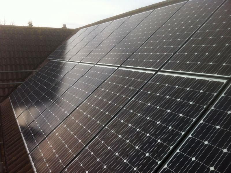 Solar PV Installation in Huntingdon