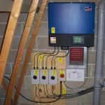Solar PV in Whittlesford - inverter