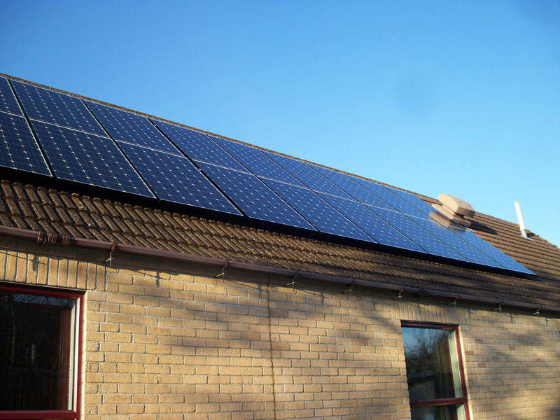 Solar PV in Whittlesford - complete