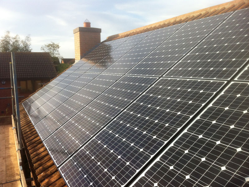 Completed St Ives Solar PV Installation